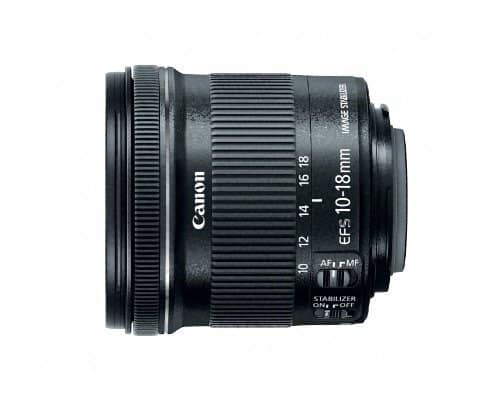 Canon EF-S lens 10-18mm