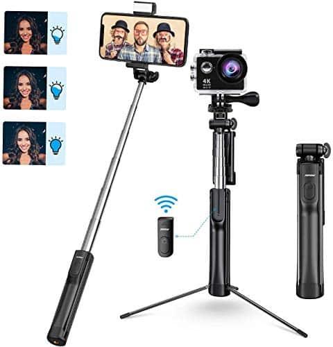 Mpow Selfie Stick Tripod with Bluetooth