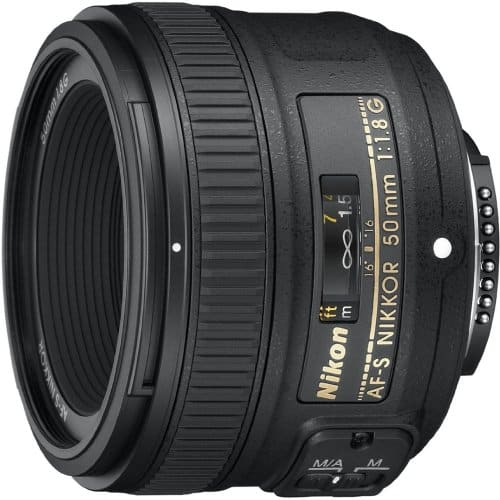 AF-S Nikkor 50mm f/1.8 G - Fixed Focal Lens