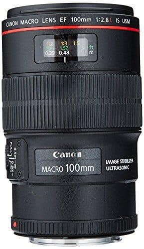 CANON EF 100 mm f / 2.8 L MACRO IS USM