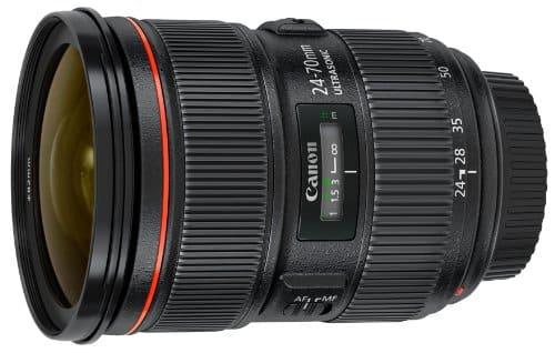 Canon 24 - 70 mm f / 2.8 L II USM Lens