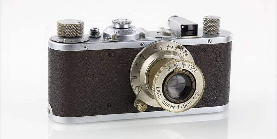 Leica III, high-end 24 x 36 from 1935.