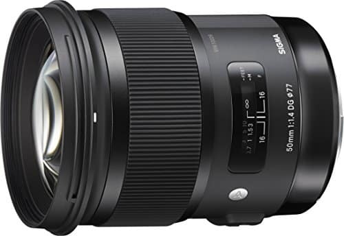 Sigma 50mm f/1.4 DG EX HSM - 50mm Fixed Focal Lens