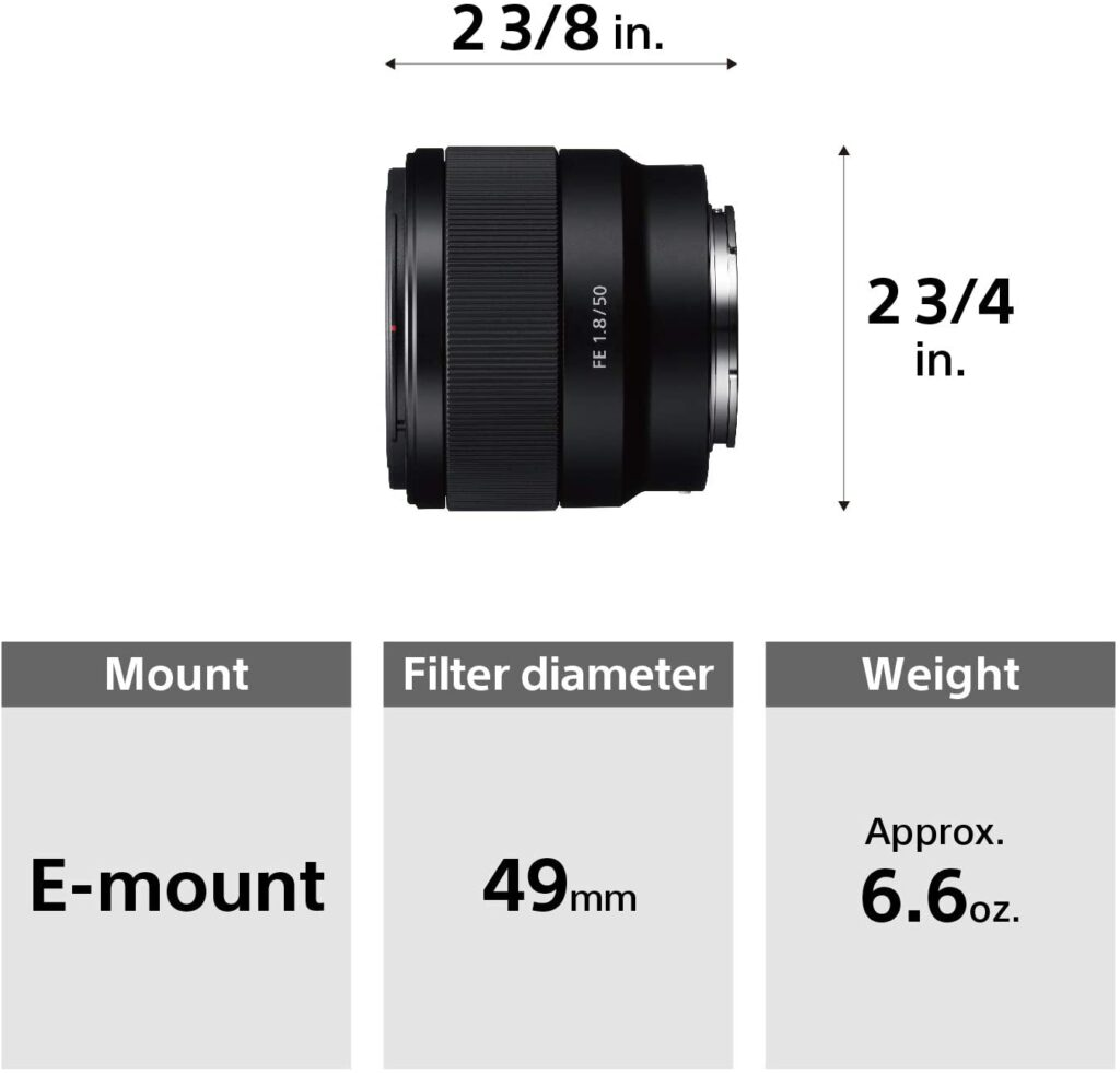 Review of Sony FE 50mm F/1.8
