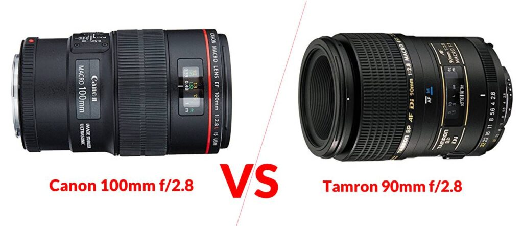 Canon 100mm f/2.8 VS Tamron 90mm f/2.8