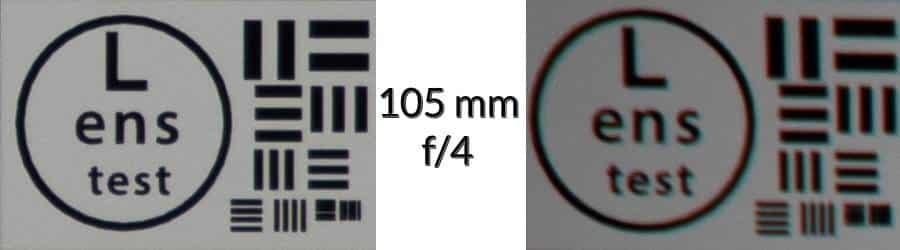 Lens Test - 105 mm f/4