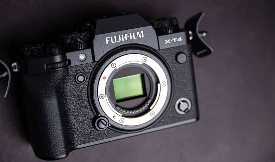Fujifilm X-T4 Camera Front