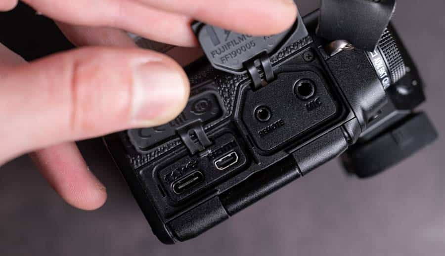 Fujifilm X-T4 Camera Power Supply