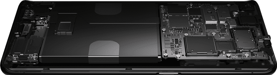 What is Inside OPPO Find X2?