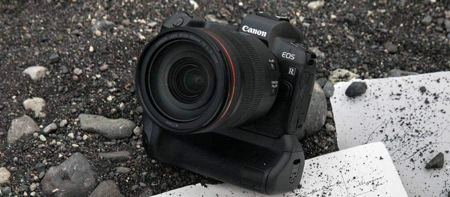 Canon RF 24-105mm F4L IS USM Ground Test