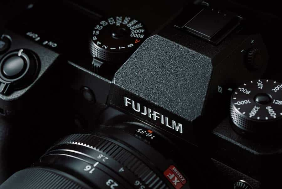 Top Panel & Controls - Fujifilm XH-1