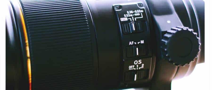 Sigma 150mm Macro Lens - Adjustment Panel