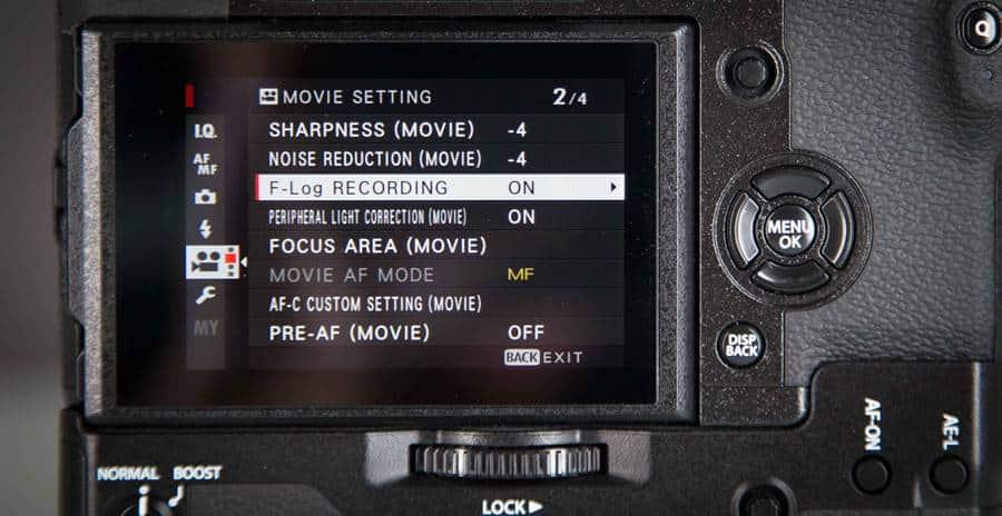 Navi Pad & Menu - Fujifilm XH-1