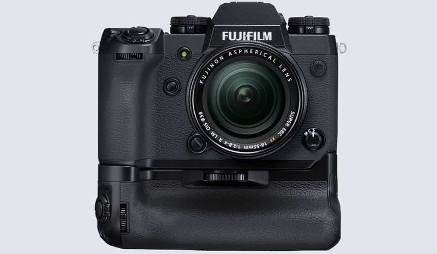 Fujifilm XH-1 with Battery Grip