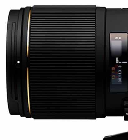Focus Ring: Sigma 150mm Macro