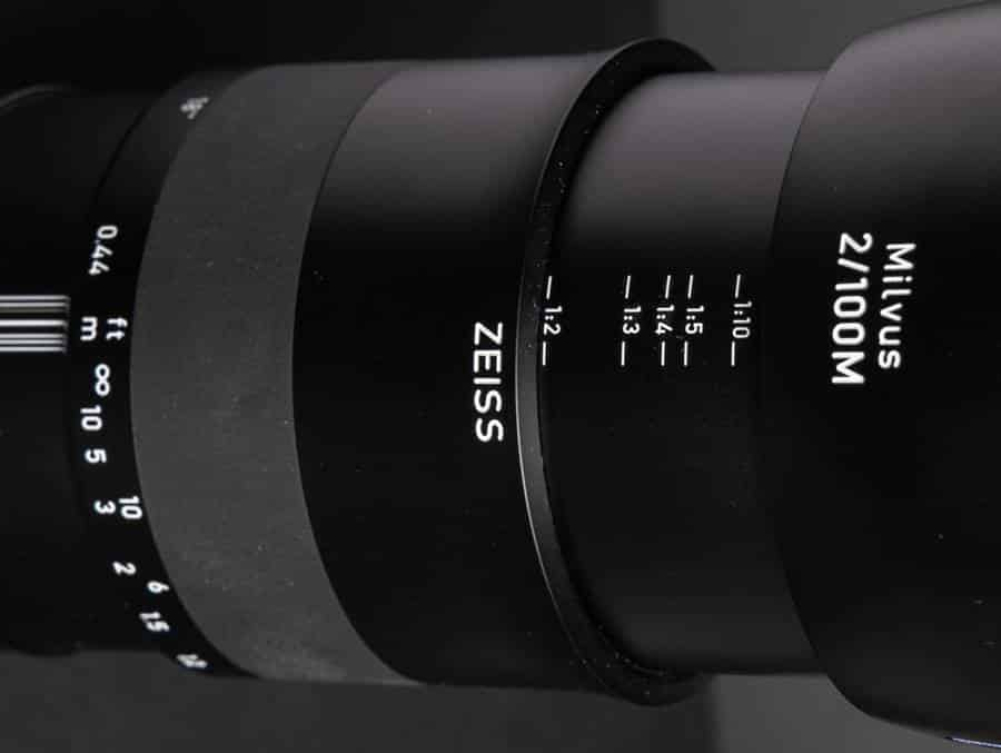 ZEISS Milvus 2/100M Lens Specifications