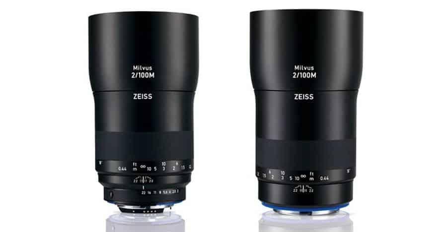 ZEISS Milvus 2/100M macro lens