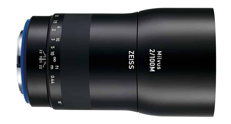 ZEISS Milvus 2/100M Specification Summary