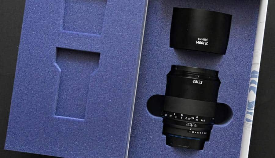 ZEISS Milvus 100/2M Packaging