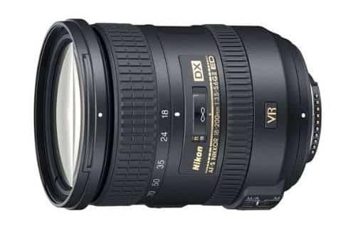 Nikon Zoom Lens F 18-200mm AF-S f/3.5-5.6 G IF ED VR II