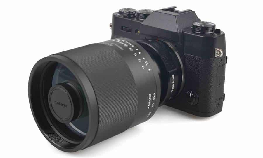 Characteristics of Tokina 400mm F8