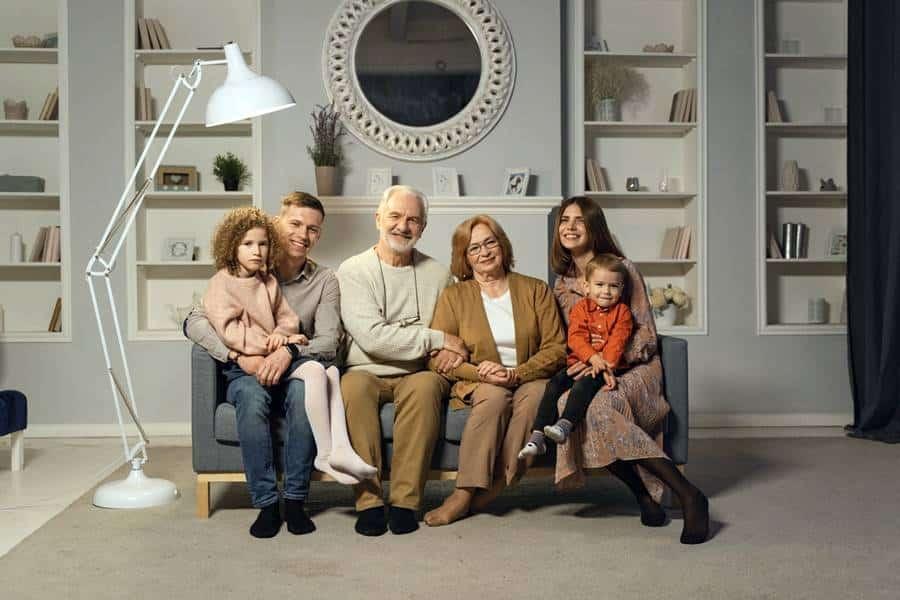 Family Photoshoot Ideas in Studio