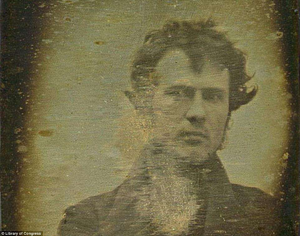 First Selfie by Robert Cornelius