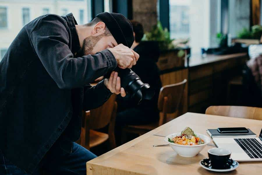 Food Photography Lens