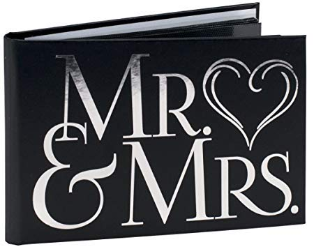 Malden International Designs Mr & Mrs Photo Album