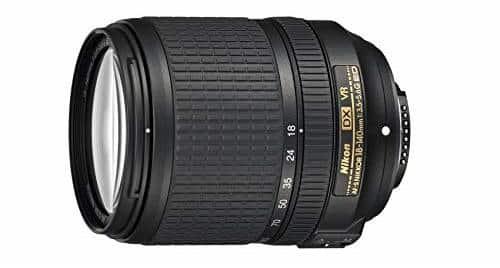 Nikon NIKKOR 18-140mm f/3.5-5.6G ED Vibration Reduction Zoom Lens