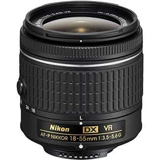 Nikon 18-55mm F/3.5-5.6 AF-P