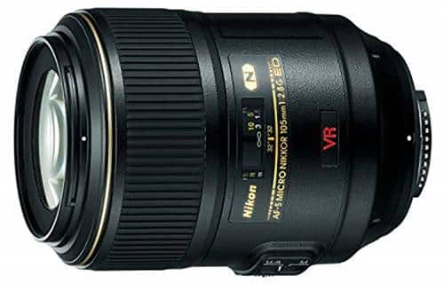Nikon AF-S VR 105mm f/2.8 G IF-ED MC Telephoto Lens
