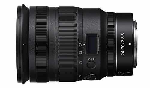 Nikon Nikkor Z 24-70mm f/2.8 S Wide Angle Lens
