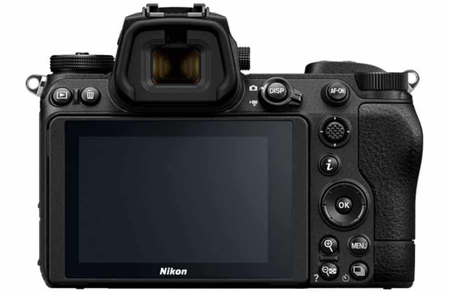 Nikon Z6 II Back View