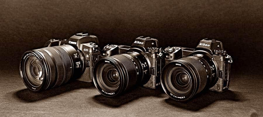 Nikon EOS R, Nikon Z6 and Z7