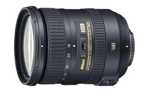 Nikon Zoom F 18-200mm AF-S Lens