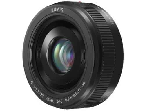 PANASONIC LUMIX G II Lens, 20MM, F1.7 ASPH