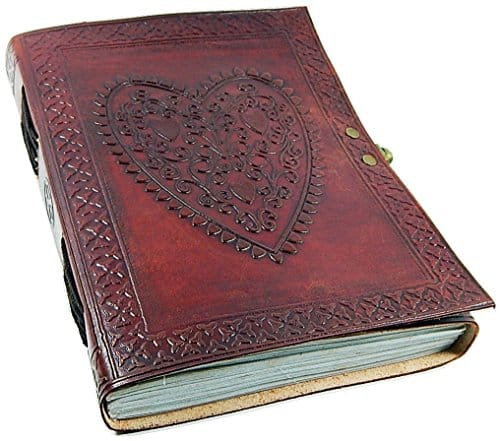 Paper High Embossed Leather Photo Album