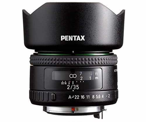 Pentax FA35mm F2 Versatile Wide Angle Lens