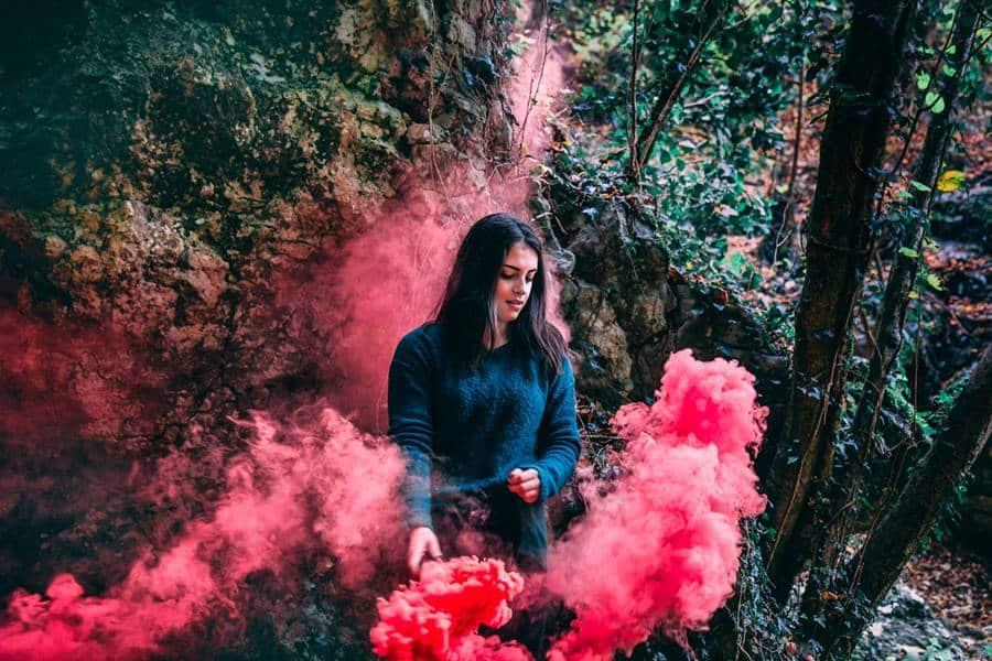 Smoke Bomb Photography Ideas