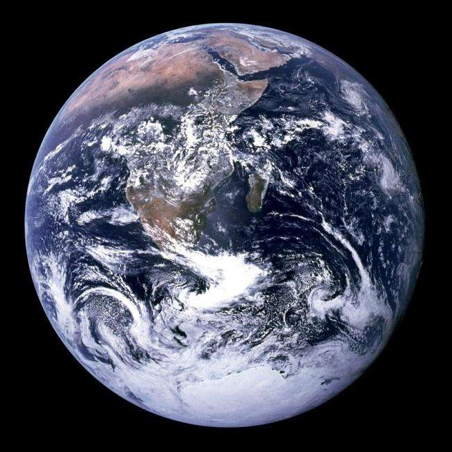 The First Color Photo of the Earth