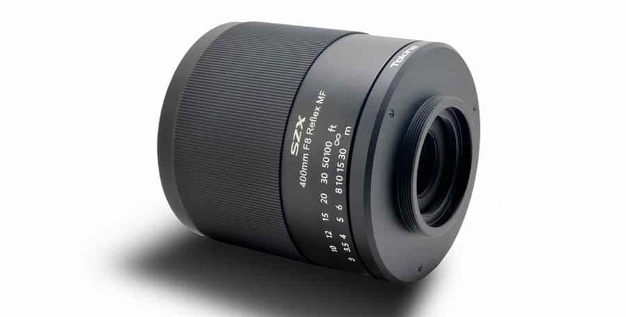 Tokina SFX 400mm F8 Reflex MF Lens