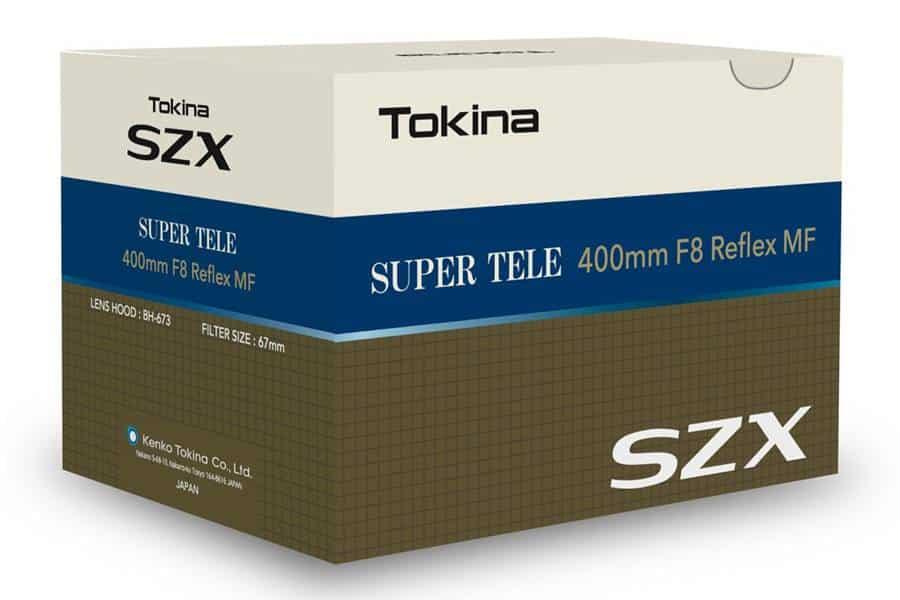 Tokina 400mm F8 Reflex MF Lens