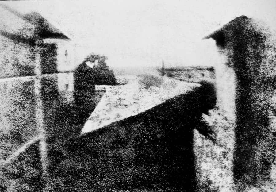 Window View - The First Photograph of History