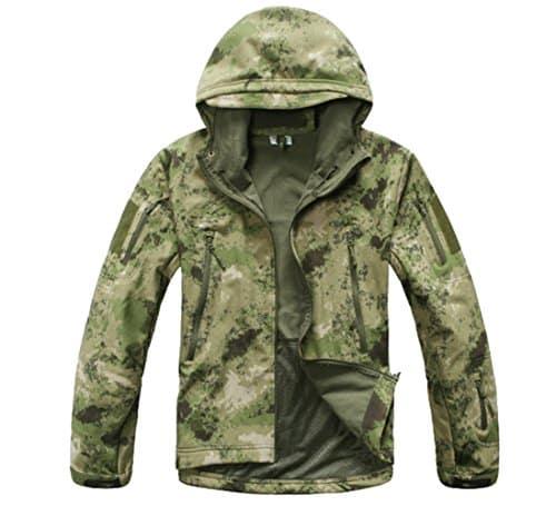 Camouflage Overcoat
