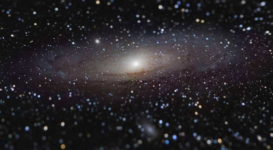 Andromeda Galaxy at Arm's Length. By: Nicolas Lefaudeux (France)