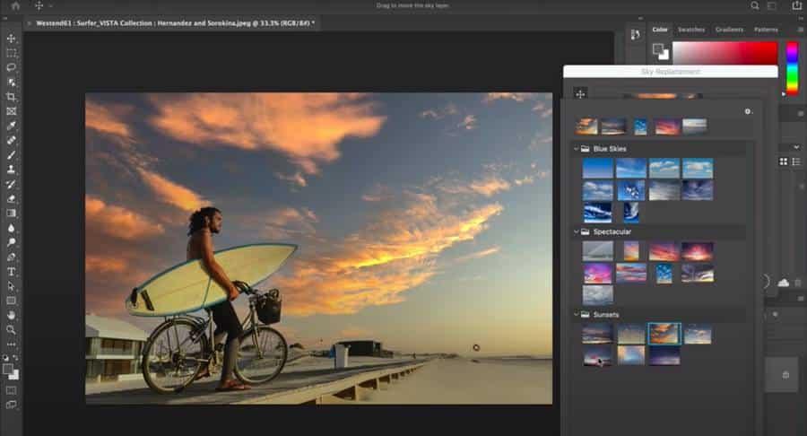 AI in Adobe Photoshop