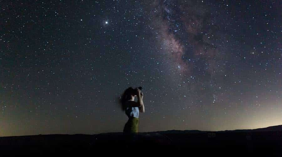Self-Portrait Astrophotography