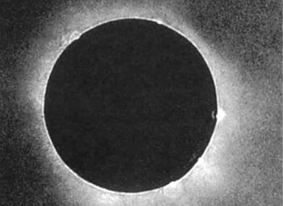 First Photograph of Full Solar Eclipse, Year 1851