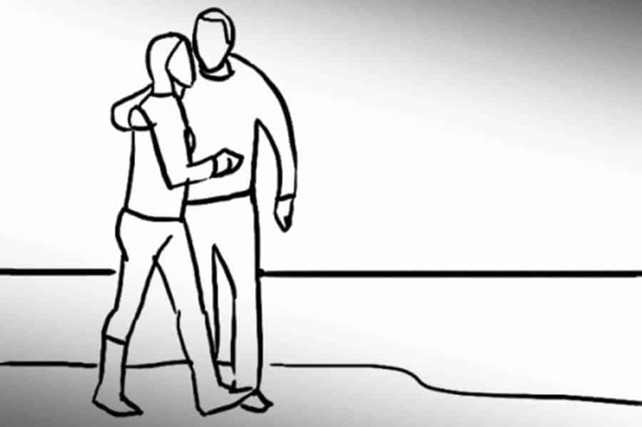 Pose 14: Shooting a hugging couple